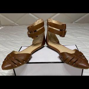 BCBGeneration Zakayla Ankle Strap Flats